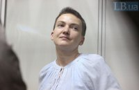 Савченко останется под стражей до 13 июля