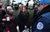 """""""ДНР"""" и """"ЛНР"""" передали Украине двух заложниц"""