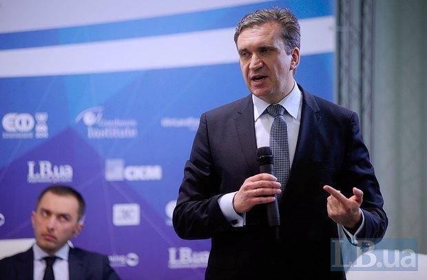 Павел Шеремета, министр экономики Украины