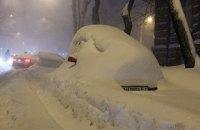 На понеділок у Києві та в області - штормове попередження