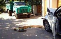 На автомобиль с лидерами одесского Народного Руха наехал грузовик (обновлено)
