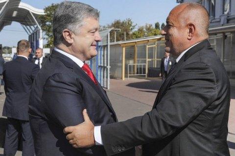 """Порошенко и премьер Болгарии обсудили продление дороги """"Одесса-Рени"""" до Варны и Софии"""