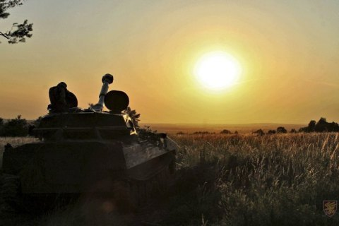 Російські найманці чотири рази порушили режим припинення вогню на Донбасі