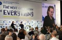 Фронтмен U2 в Киеве указал на лекарство от коррупции