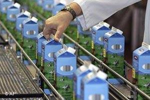 Россия запретила ввоз литовской молочки