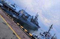 В Одессе открыли доступ на военные корабли по случаю дня ВМС