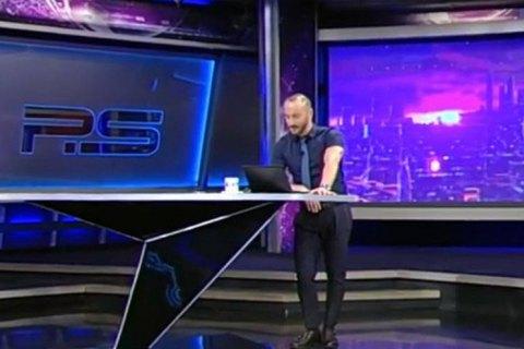 Телеведущий Rustavi-2  в своей авторской программе обматерил Путина на русском языке