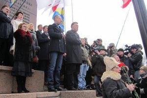 Суд частично запретил оппозиции митинговать в Харькове