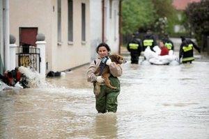 Варшаву затопило