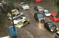 Днепропетровск затопило после ливня