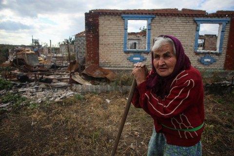 В штабе ООС заявили, что оккупанты разместили артиллерию рядом с домами в Васильевке и Яковлевке
