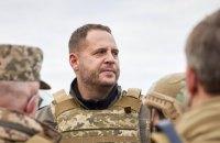 Мирний план по Донбасу лежить на столі, чекає на схвалення Росії, - Єрмак