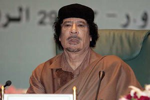 Каддафи угрожает Европе войной