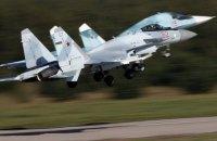 Российский Су-35 вплотную приблизился к американскому самолету-наблюдателю у побережья Сирии