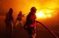 Пожар на Афоне тушат более 700 человек