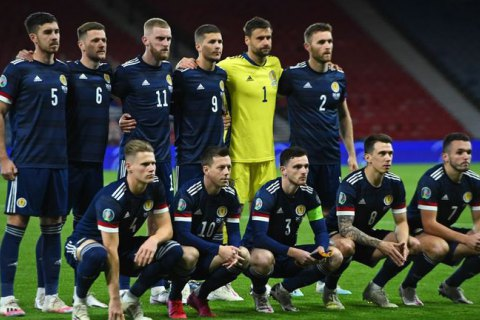 Шотландська збірна не стане на коліно перед матчами Євро-2020