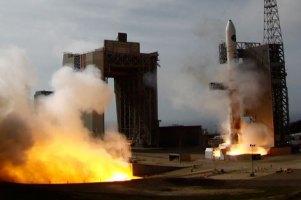 Ракета, запущенная Северной Кореей, упала в океан