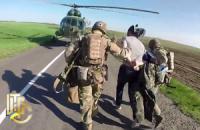 Військові показали оперативне відео затримання ДРГ бойовиків