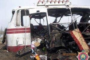 Водія автобуса, що підірвався на міні під Артемівськом, затримали