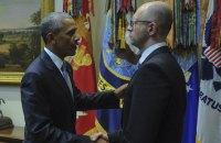 Встреча Обамы и Яценюка была незапланированной, - NYT