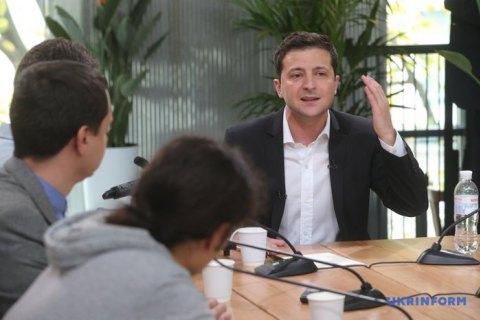 Зеленський поскаржився на брак кандидатів на голів ОДА