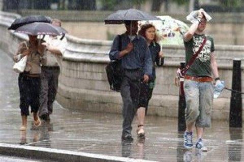 У неділю в Києві обіцяють невеликий дощ