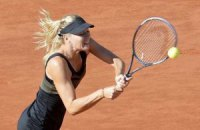 Марія Шарапова опустилася на третє місце у світовому рейтингу