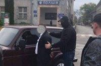 Замначальника полиции Тячева поймали на взятке