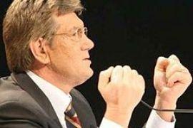 Ющенко угрожает начальникам УМВД судьбой Билоконя