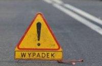 Автобус с украинцами попал в ДТП в Польше, 11 человек травмированы