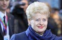 Тимошенко пригласил литовский президент