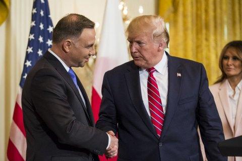 США розмістять у Польщі 1 тис. військових для стримування Росії