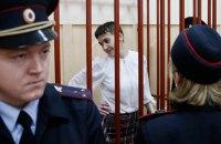 Савченко пригрозила голодовкой в случае затягивания ее дела