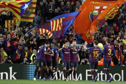 """""""Барселона"""" відвантажила """"Реалу"""" п'ять м'ячів у чемпіонаті Іспанії (оновлено)"""