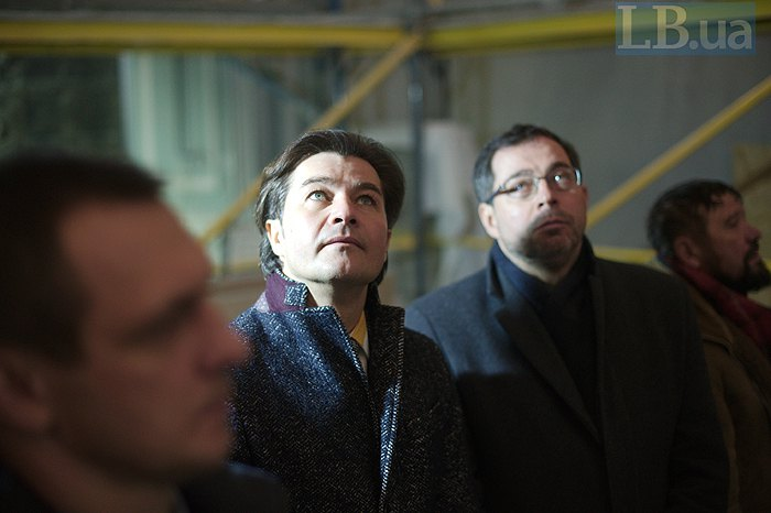 Міністр культури Євген Нищук і директор департаменту у справах релігій і національностей Міністерства культури Андрій Юраш