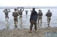 Николаевские морпехи сдали испытание на черный берет