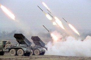 Россия продолжает обстреливать позиции сил АТО