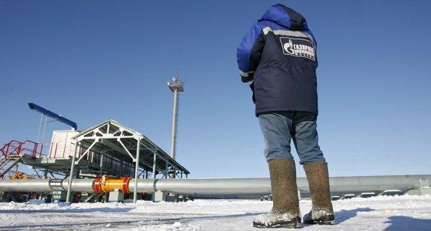 Газоизмерительная станция Газпрома, г Суджа, Россия