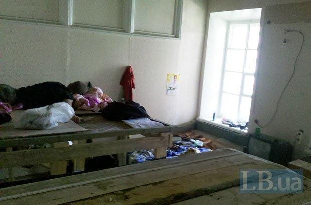Кімната, де мешкають будівельники
