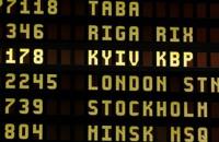 Аэропорт Вильнюса утвердил написание Kiev и Lvov на Kyiv и Lviv
