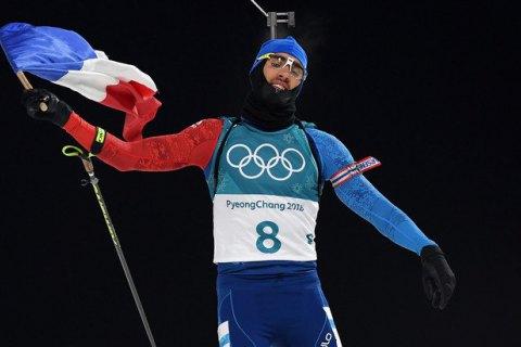 Француз Фуркад выиграл биатлонную гонку преследования