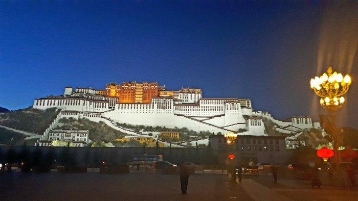 Дворец Потала (г.Лхаса), резиденция Далай-Ламы