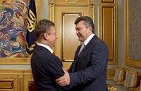 Янукович встретился с Миллером