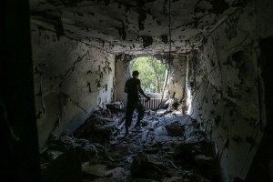 В Донецке зафиксированы новые разрушения, - горсовет