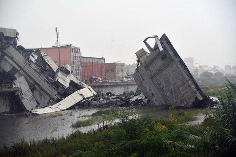 У Генуї ввели надзвичайний стан після обвалення моста