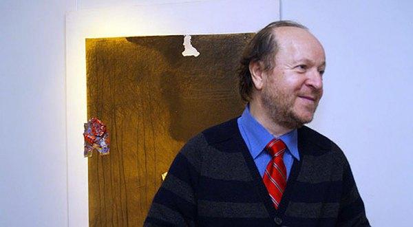 Онух на виставці робіт Тіберія Сільваши
