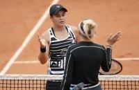 Півфіналістки Roland Garros у жіночому одиночному розряді провели найбожевільніший сет в історії турніру