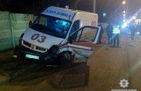 """Два человека погибли и трое пострадали в ДТП со """"скорой помощью"""" в Харькове"""
