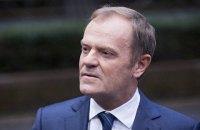 В ЕС поддерживают переизбрание Туска на должность главы Евросовета, - FT