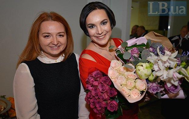 Дарка Олифер и Соня Кошкина